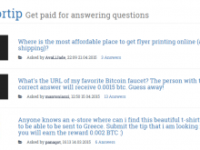 BitforTip Lets You Answer Questions for Bitcoin