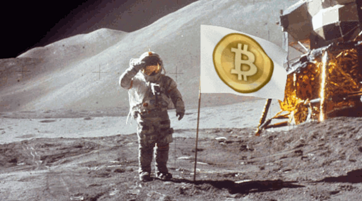 Bitcoin is being Bitcoin and spiking 30% this week and 200% this year